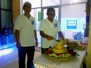 First franchise watershop on Bali